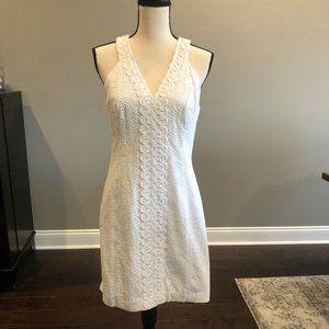 NWT Lilly Pulitzer White Eyelet Shift Dress